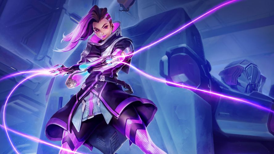 sombra overwatch 4k 8k-7680x4320 wallpaper