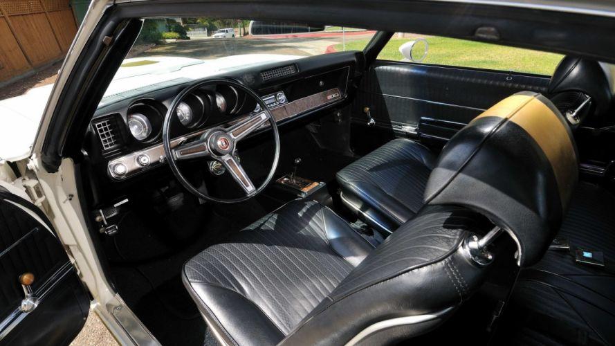 1969 Hurst Oldsmobile Olds cultass 455 cars wallpaper