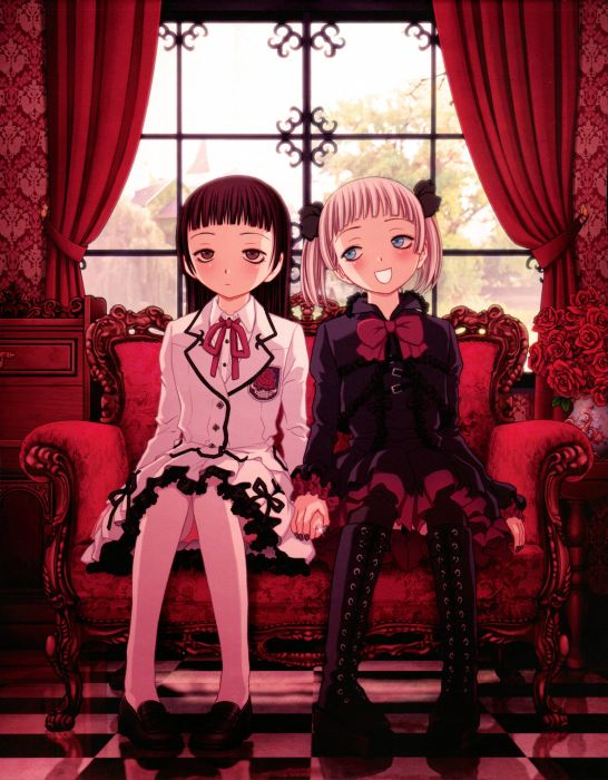 Junya Inoue Mangaka La Vie en Doll Series Kasumi Haruno Character Manga Panels Source wallpaper