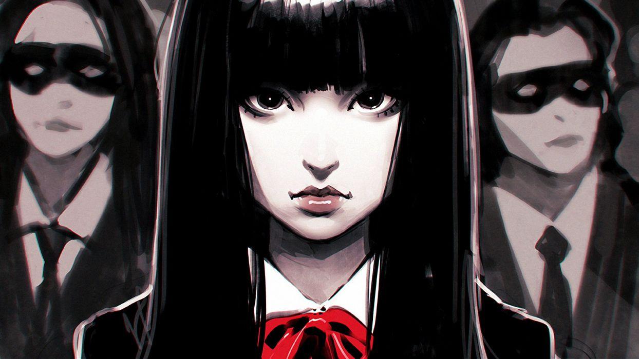 Black Hair Fan Art Ilya Kuvshinov Kill Bill wallpaper