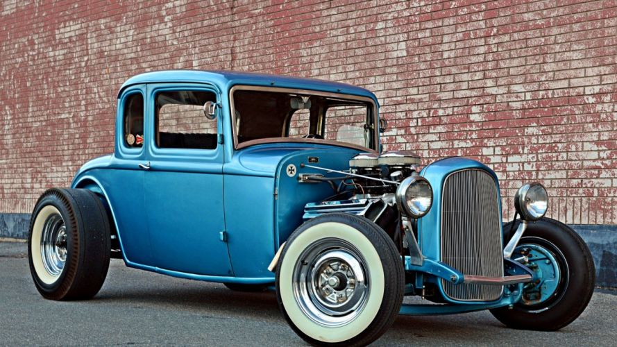 32 Ford Five Window Coupe wallpaper