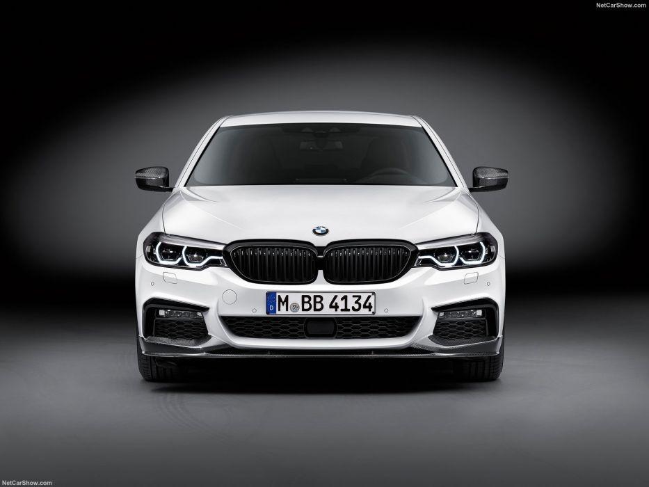 BMW 5-Series M-Performance Parts cars sedan 2016 wallpaper