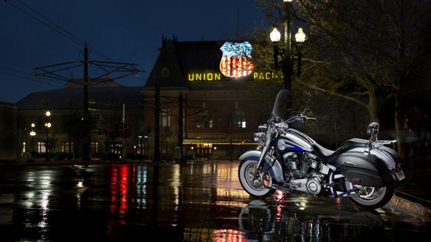 2014 Harley-Davidson CVO Softail Deluxe wallpaper