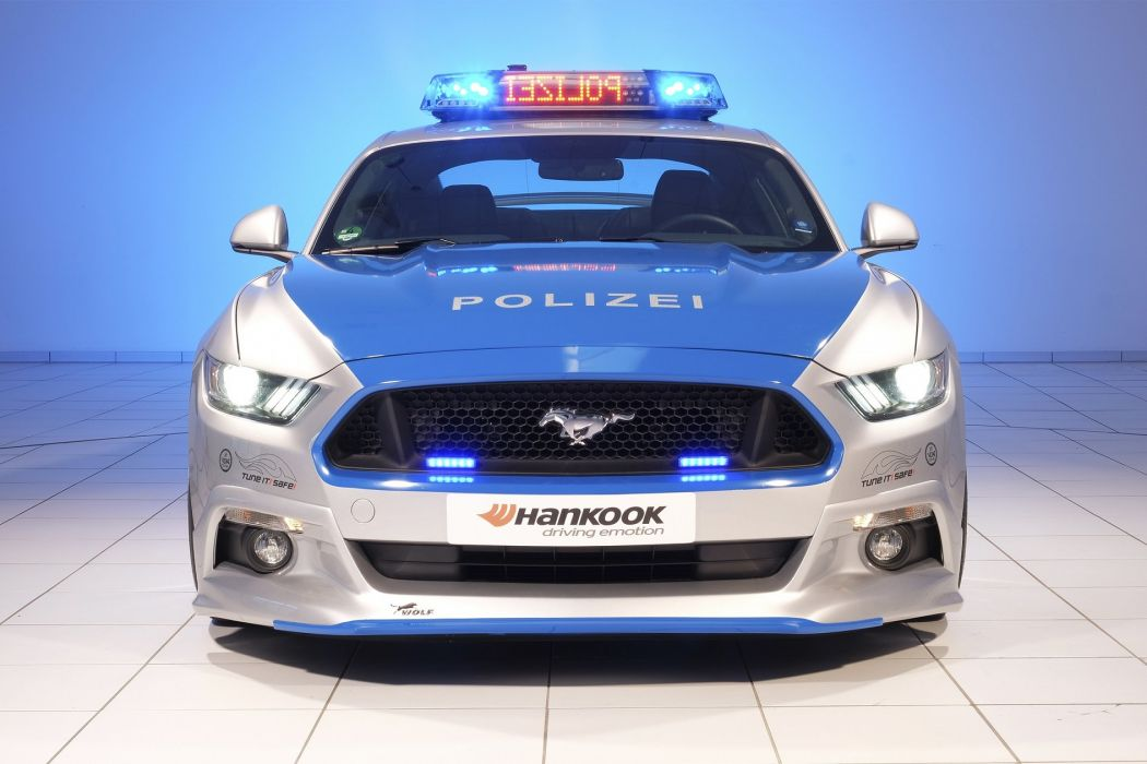 Ford Mustang Wolf Wide (5 0) polizei Concept 2016 wallpaper