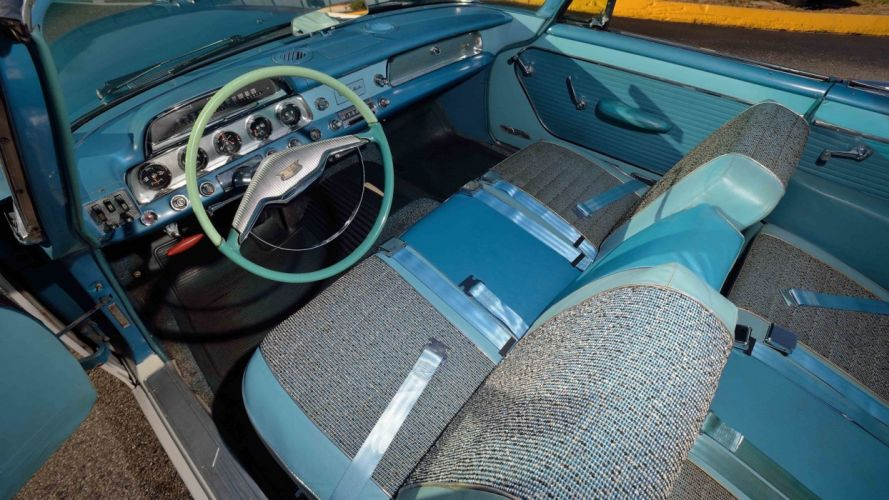 1957 DODGE CUSTOM ROYAL D-500 CONVERTIBLE cars classic wallpaper