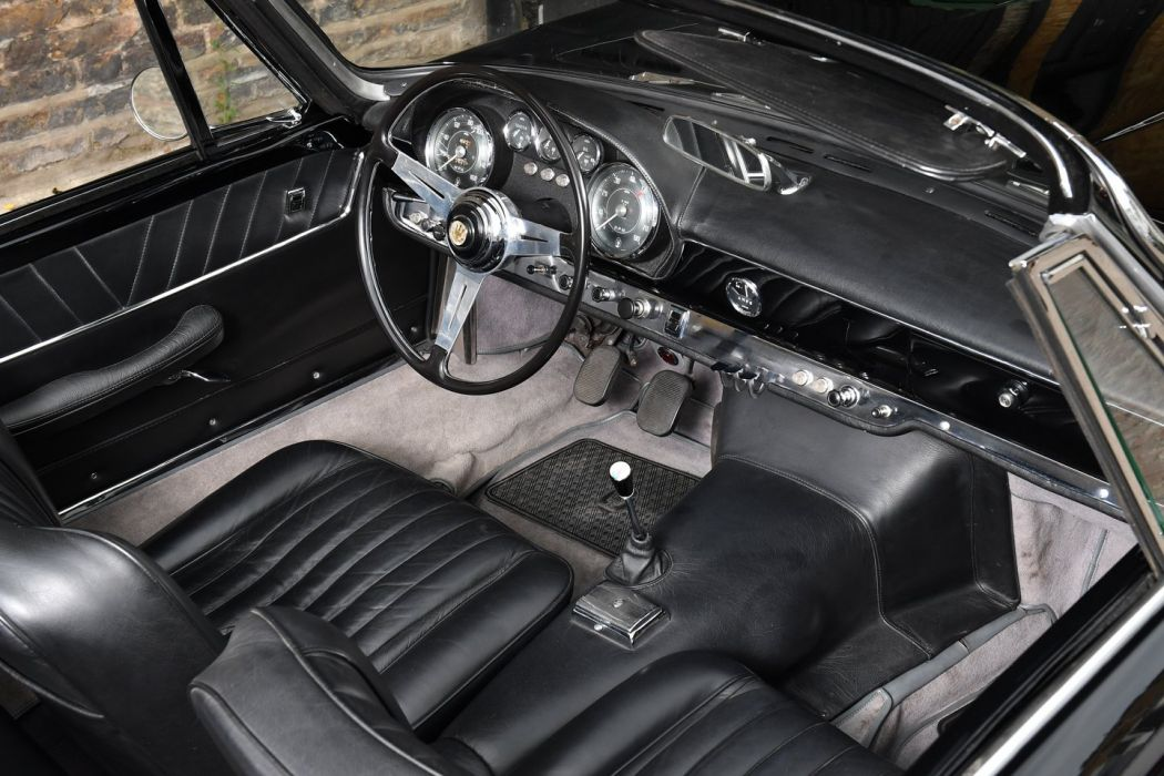 1962 MASERATI 3500 GT VIGNALE SPYDER cars black wallpaper