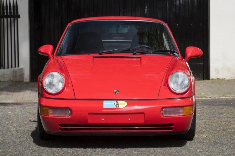1992 PORSCHE 964 CARRERA (RS) cars red wallpaper