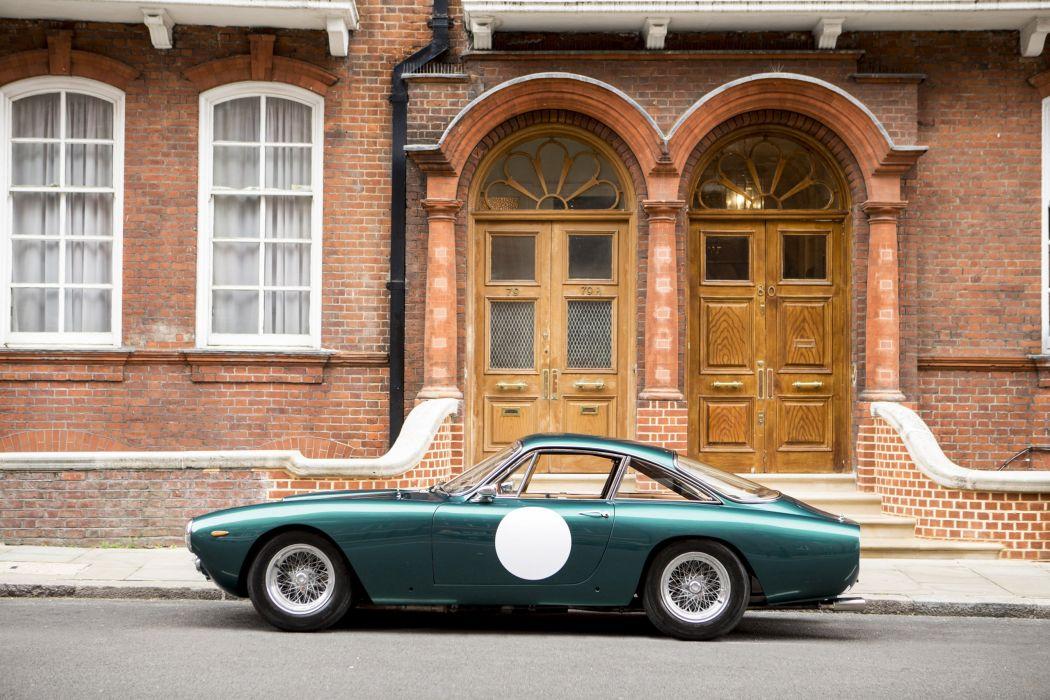 1963 FERRARI 250-gt LUSSO cars green wallpaper