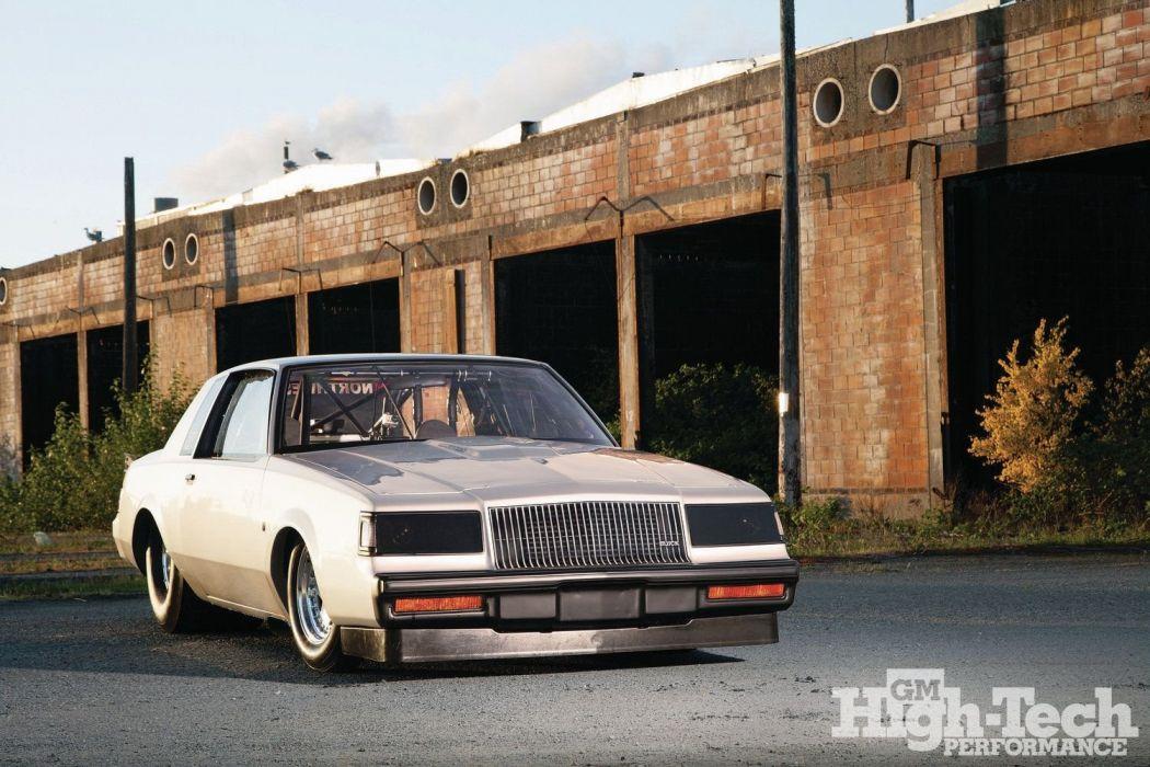 1987 Buick Turbo Regal Silver cars drag wallpaper