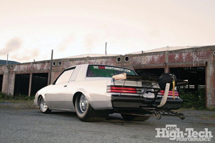 1987 Buick Turbo Regal Silver cars drag wallpaper