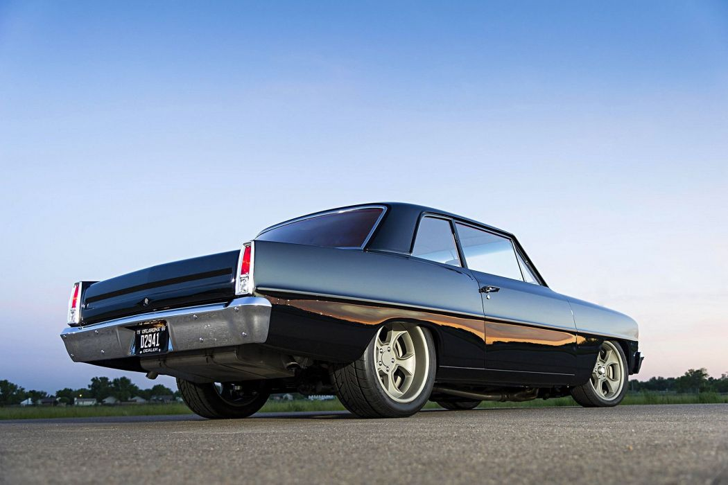 1966 Chevrolet Nova cars black pro touring wallpaper