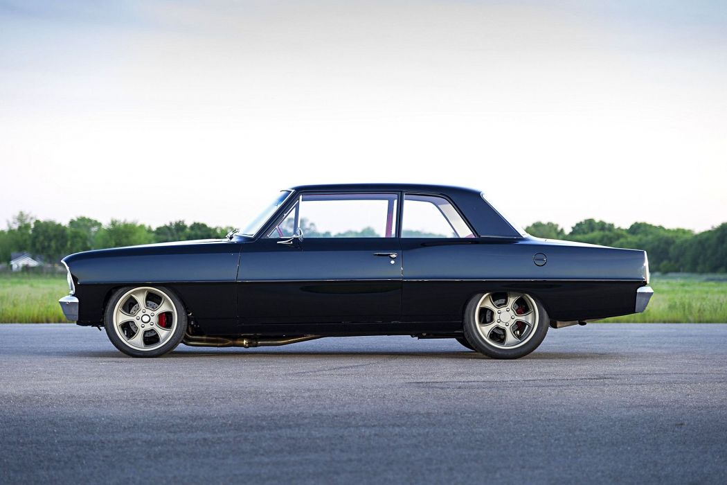 1966 Chevrolet Nova cars black pro touring wallpaper