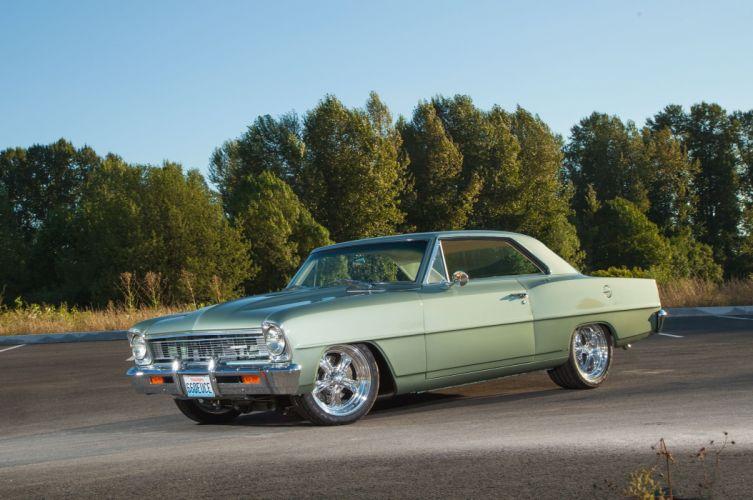 1966 Chevrolet Nova cars modified wallpaper