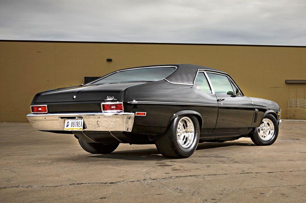 1970 Chevrolet Nova modified cars black wallpaper