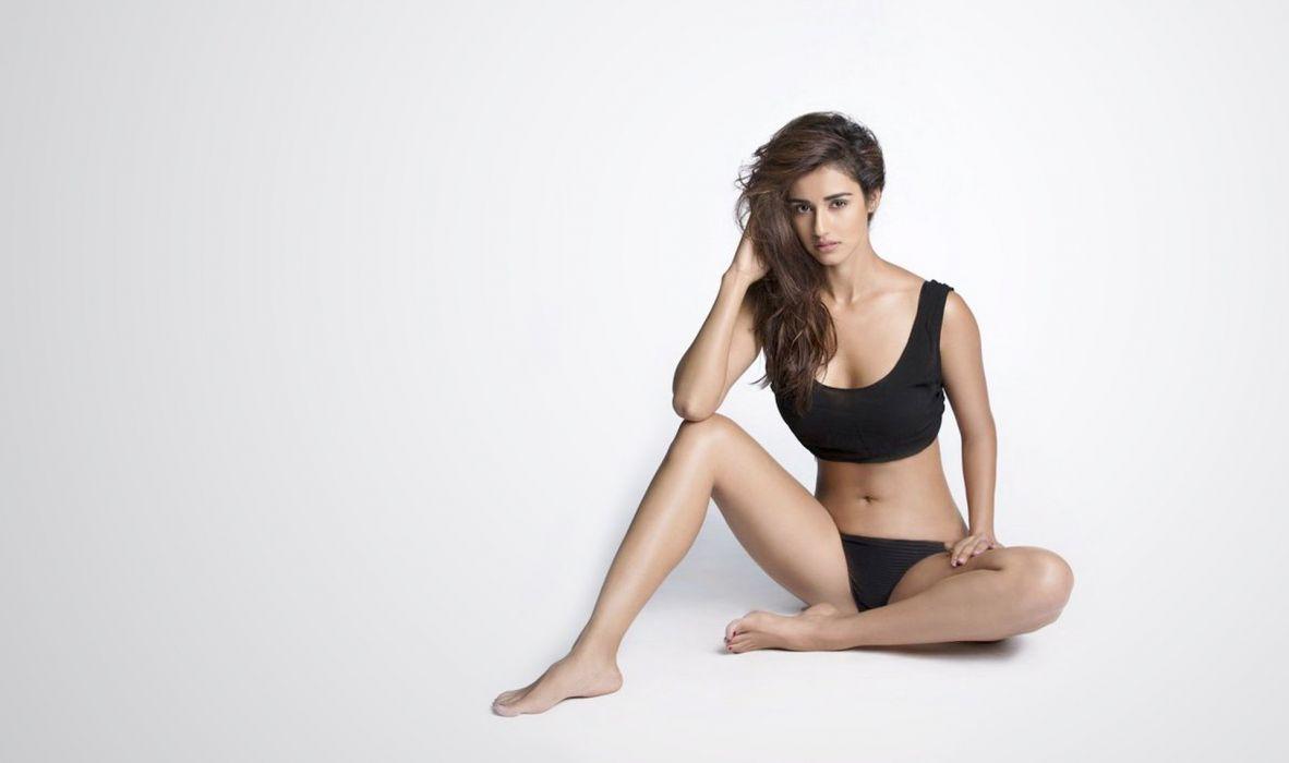 disha patani bollywood actress model girl beautiful brunette pretty cute beauty sexy hot pose face eyes hair lips smile figure indian  wallpaper