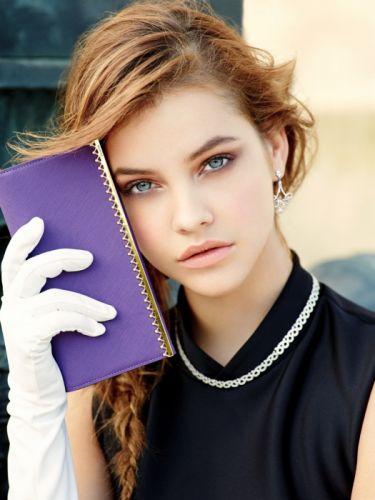 Barbara Palvin blue eyes face model women wallpaper