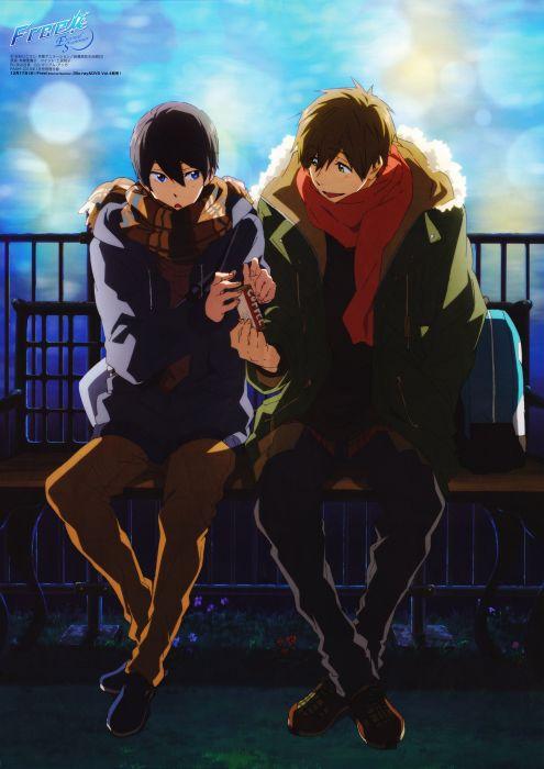 Free Series Makoto Tachibana Character Haruka Nanase Free Character Anime Boys Wallpaper 2000x2828 1053768 Wallpaperup