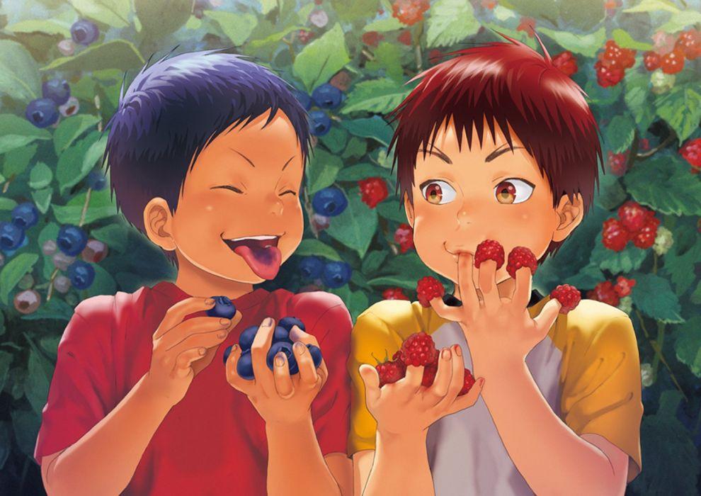 kuroko no basket anime series child cute boys wallpaper