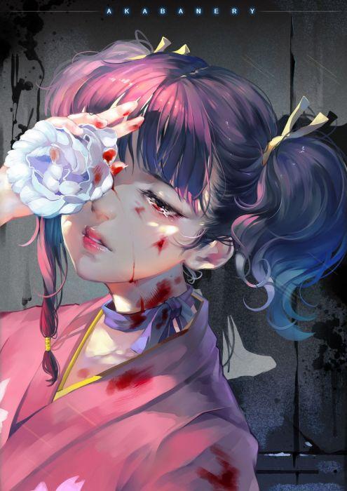 anime girl koutetsujou no kabaneri wallpaper