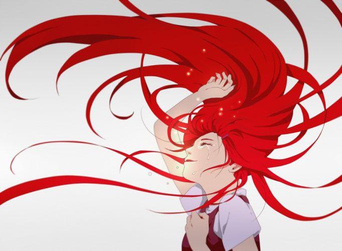 anime naruto girl red hair wallpaper