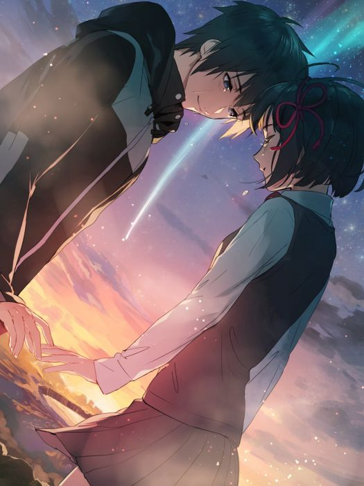 Anime Couple Kimi No Na Wa Wallpaper 1440x1920 1053815 Wallpaperup