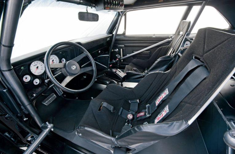 1972 Chevy Nova cars black yenko Pro Street wallpaper