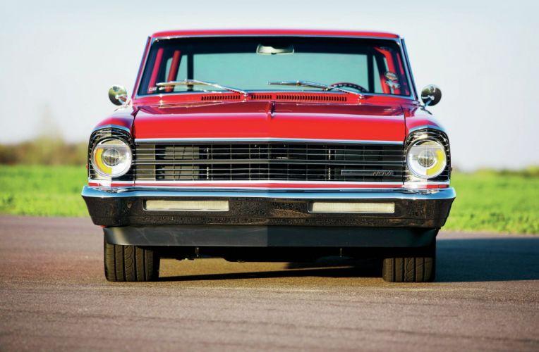 1967 Chevy Nova cars red wallpaper