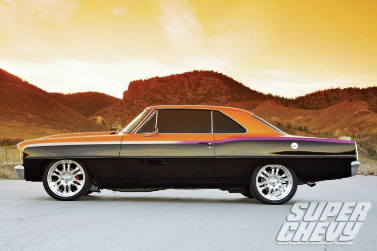 1966 chevrolet chevy nova cars wallpaper