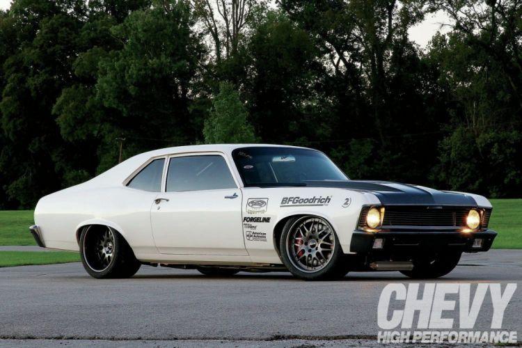 1970 chevrolet chevy nova cars Pro Touring wallpaper