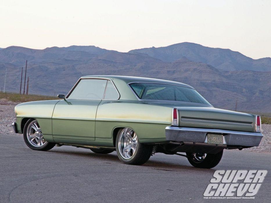 1966 chevy nova cars pro touring wallpaper