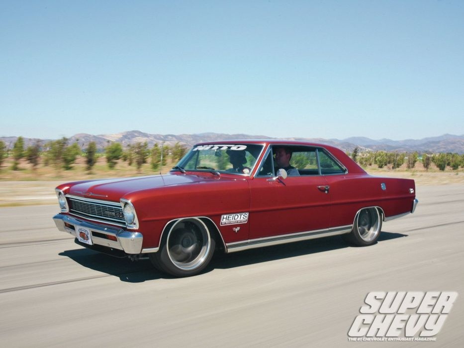 1966 chevy nova (II) cars pro touring wallpaper