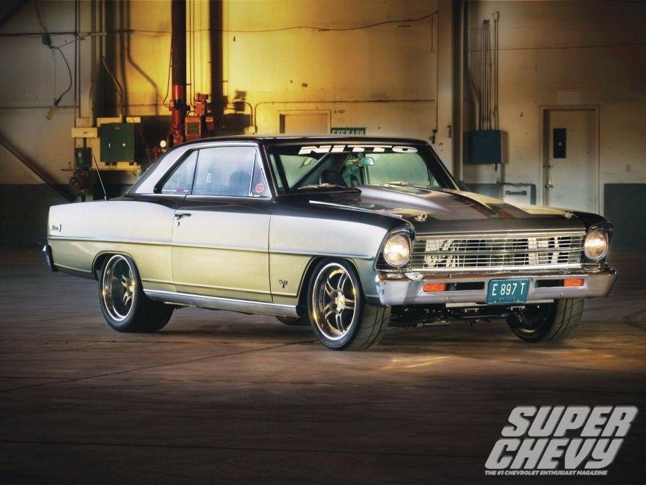 1967 chevy nova cars wallpaper