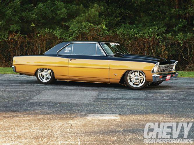 1967 chevy nova cars Pro Touring wallpaper
