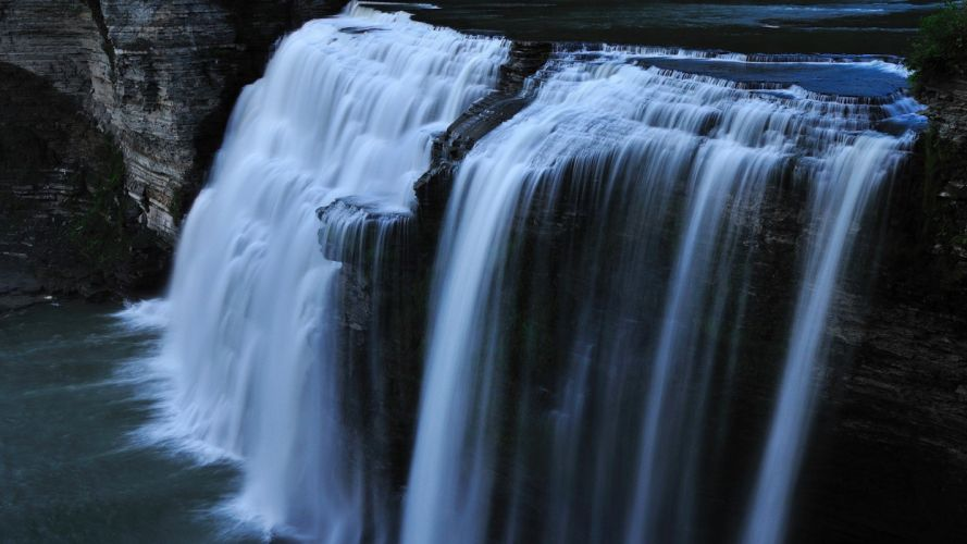 naturaleza cascada rio agua wallpaper