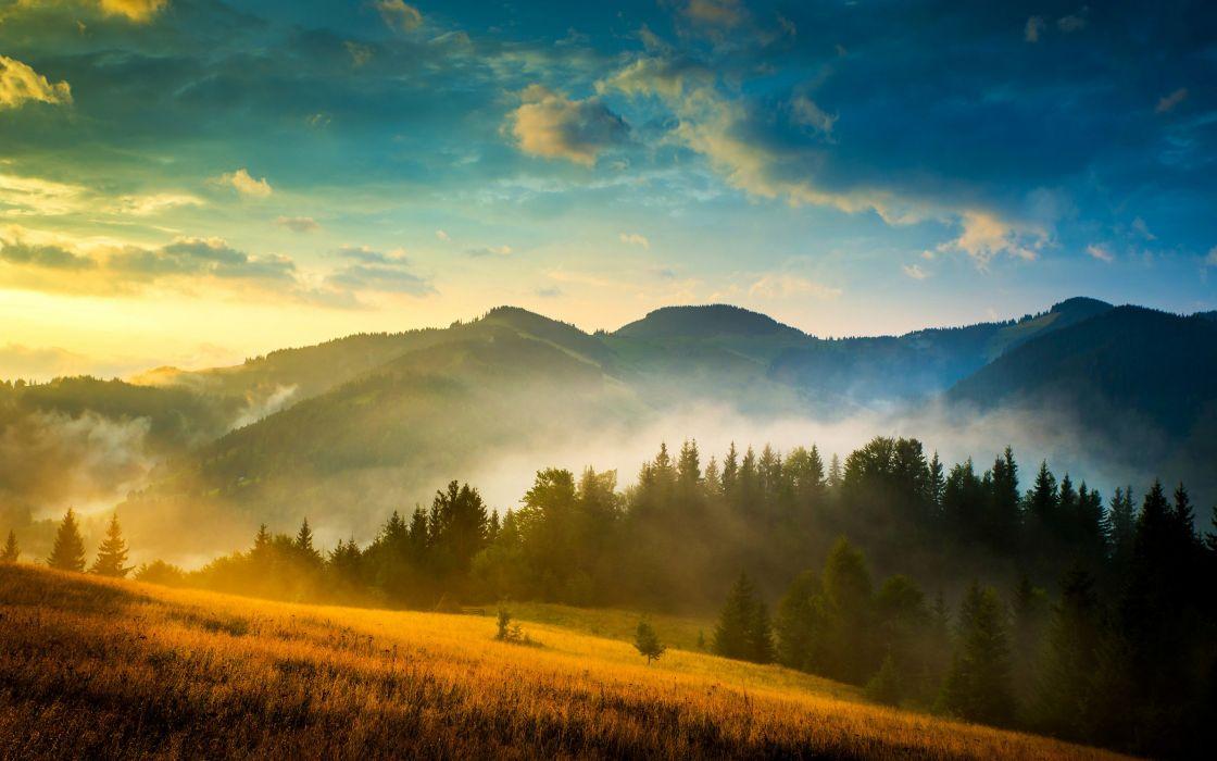 Mountains Landscape wallpaper