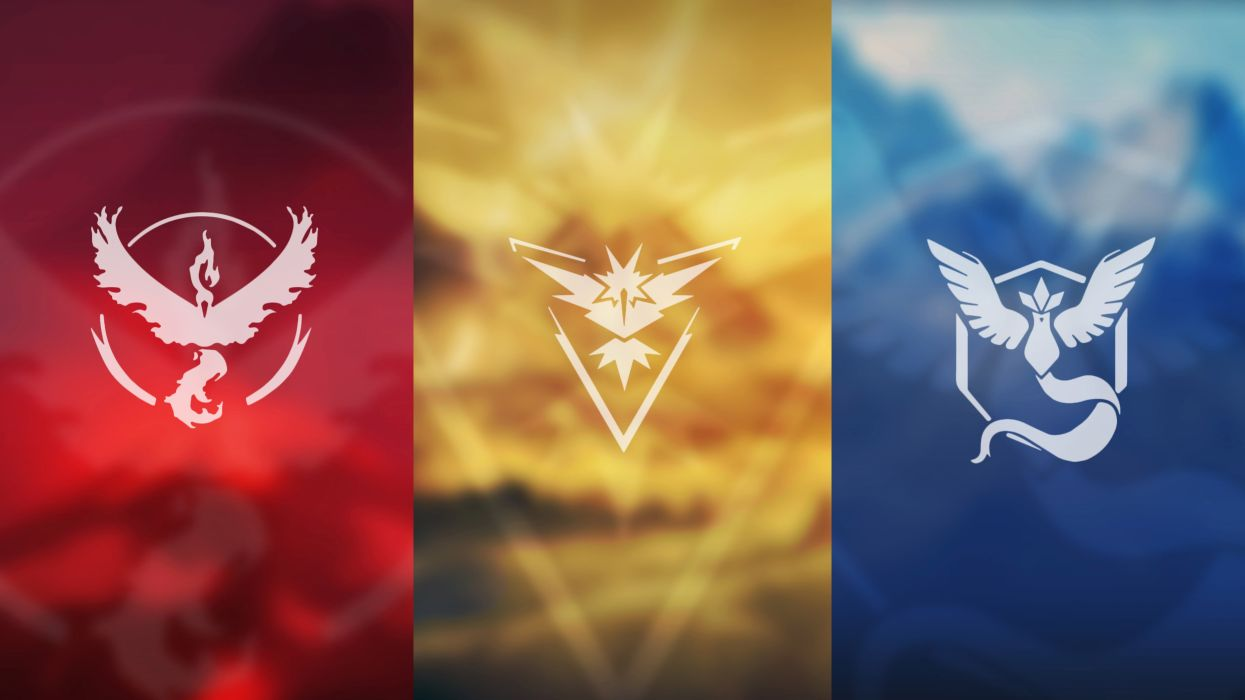 Pokemon Go Teams wallpaper