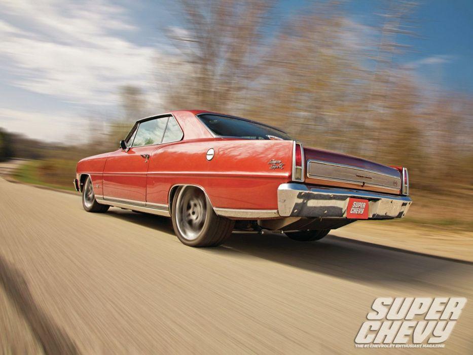 1966 chevy nova cars bronze wallpaper