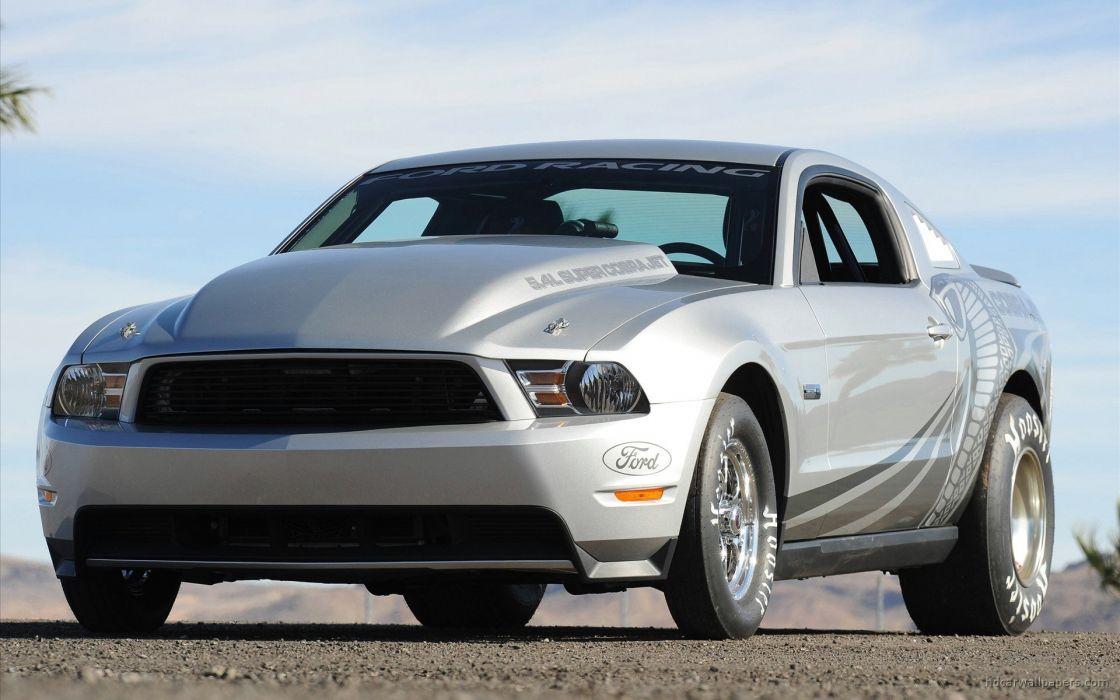 2010 Ford Mustang Cobra Jet wallpaper