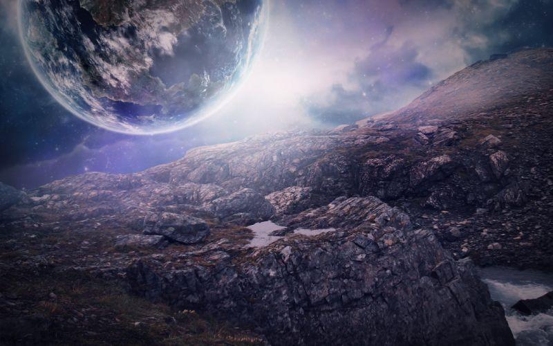 Close Planet wallpaper