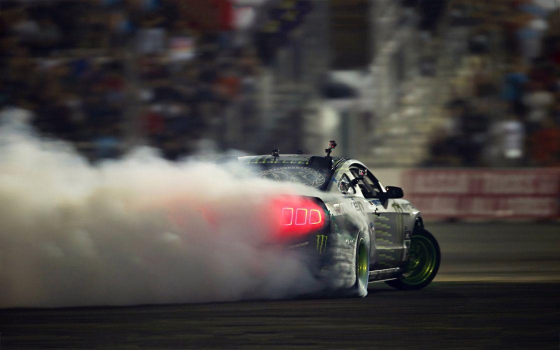 Ford Mustang GT Drift wallpaper