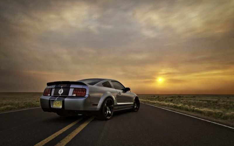 Ford Mustang Sunset wallpaper