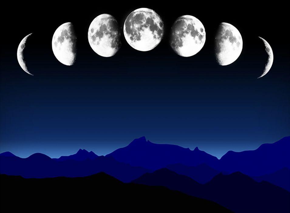 Moonscape wallpaper