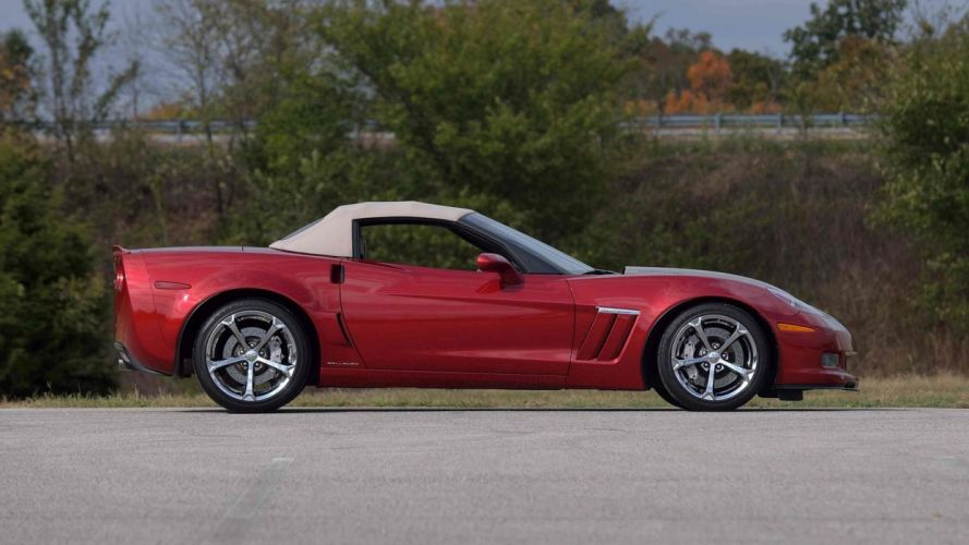 2012 CHEVROLET CALLAWAY CORVETTE CONVERTIBLE cars red wallpaper
