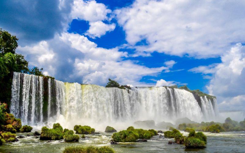 cataratas rio naturaleza wallpaper