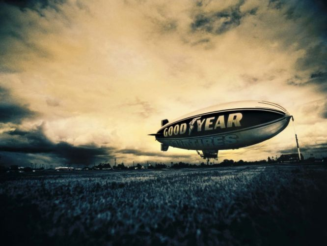 Goodyear Blimp wallpaper