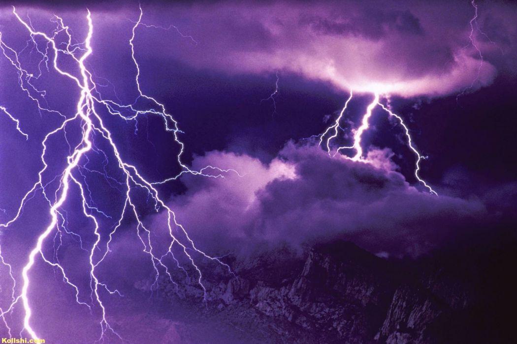 tormenta rayo nubes naturaleza wallpaper
