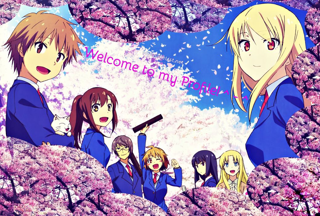 Sakurasou no Pet na Kanojo Banner wallpaper