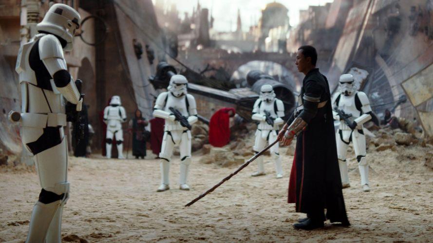 star-wars-rogue-one-chirrut-imwe-vs-stormtroopers-wallpaper-6143 wallpaper