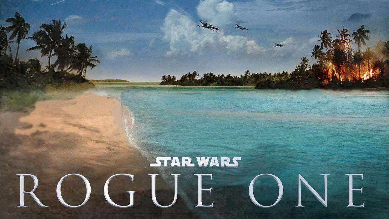 Star Wars Rogue One Landscape Concept Art Wallpaper 6261 Wallpaper 1920x1080 1057069 Wallpaperup