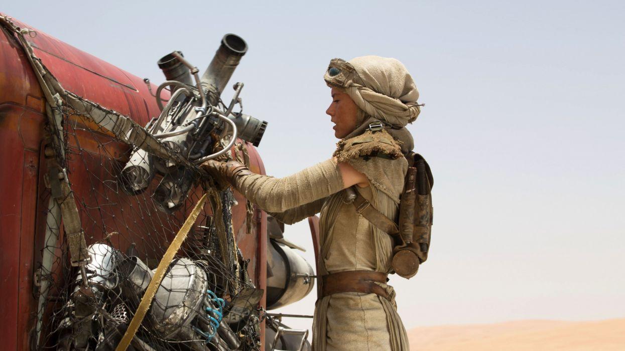 rey-with-her-speeder-star-wars-7-the-force-awakens-wallpaper-5795 wallpaper